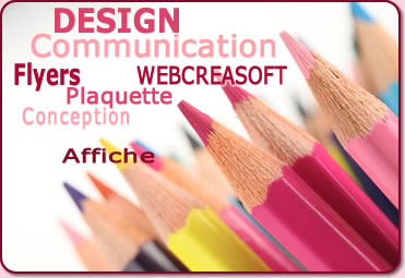 webcreasoft, communication visuelle, design
